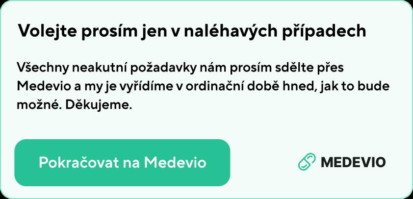 Pokračovat na Medevio